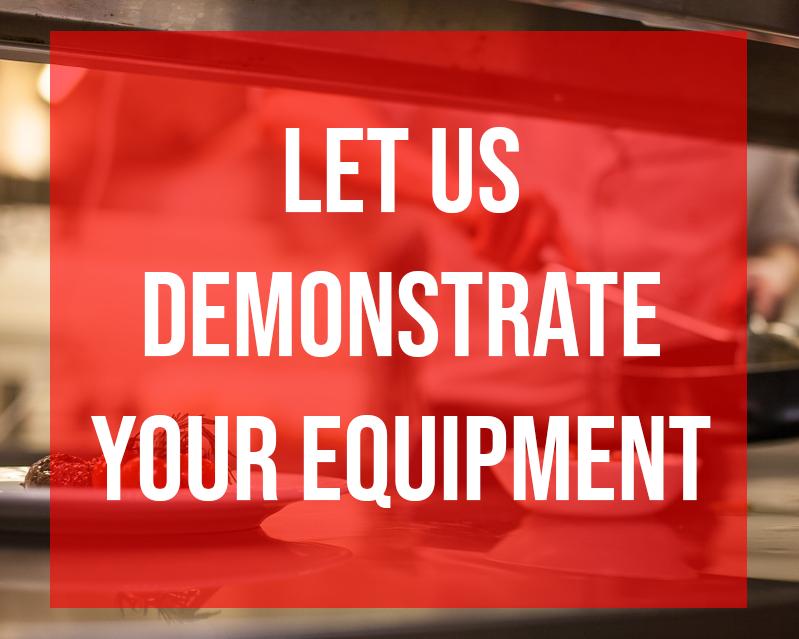 Foodservice Equipment Demo Request